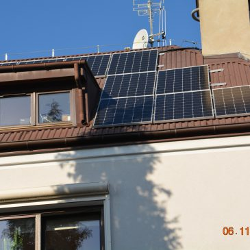 Instalacja PV o mocy 3,3 kWp